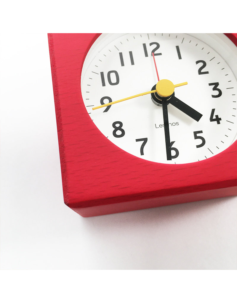 Fabre Wooden Desk Clock