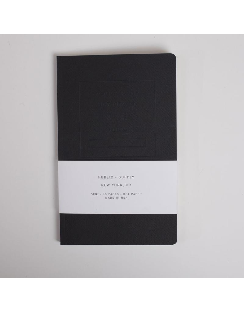 Public Supply Embossed Notebook