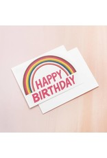 Card Birthday Rainbow Card
