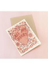 Card All My Heart Card