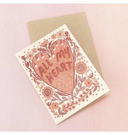 Card All My Heart Card
