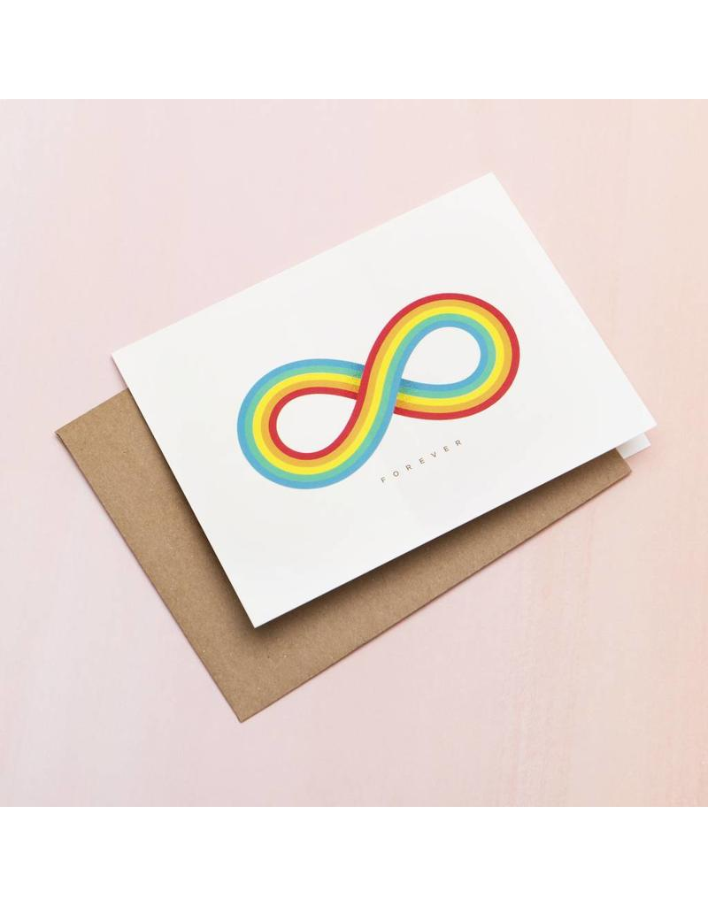 Infinite Rainbow Card