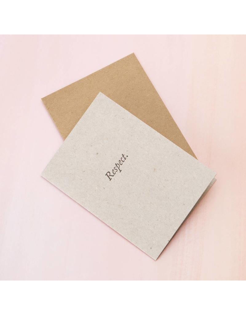 Card Respect Card