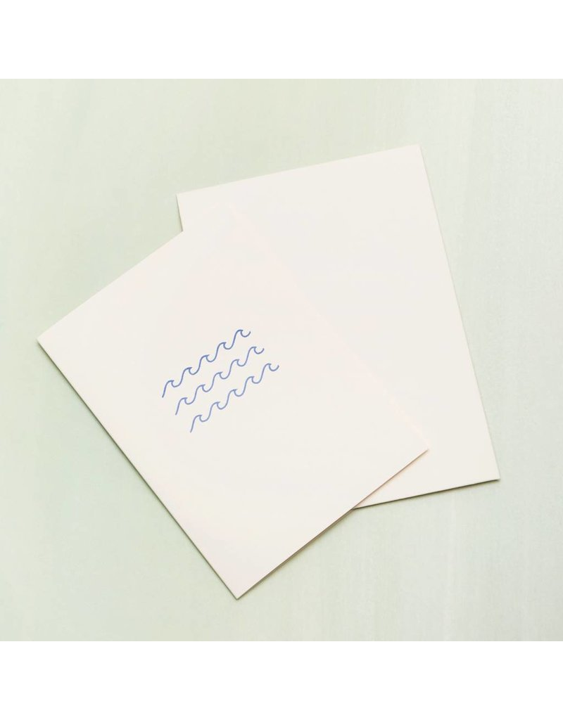 Card Waves Card