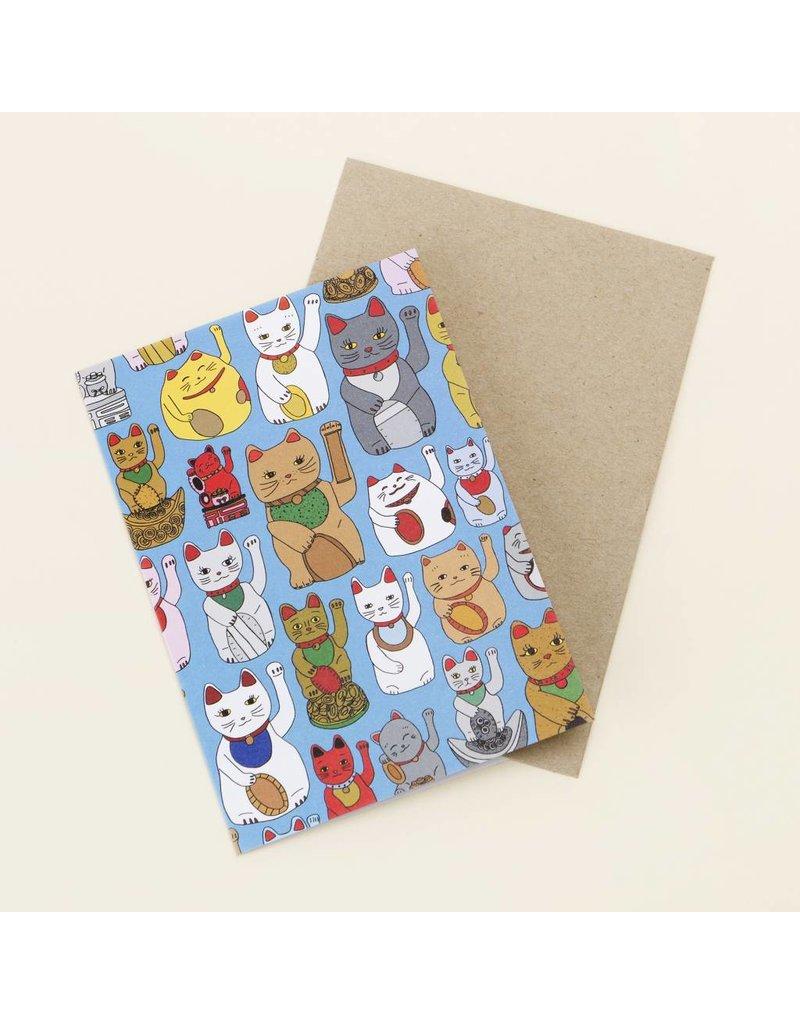 Card Lucky Cats Card
