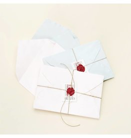 Handmade Deckled Card Set
