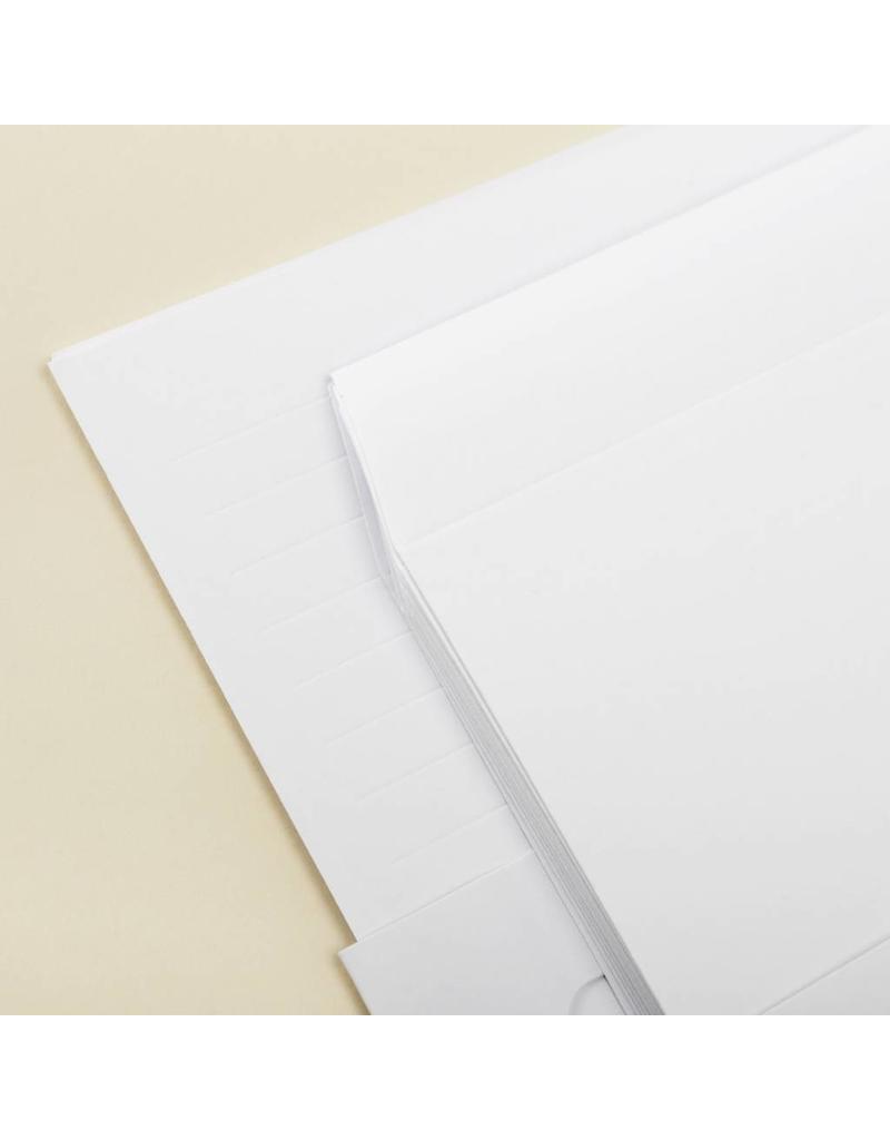 Embossed Letter Set