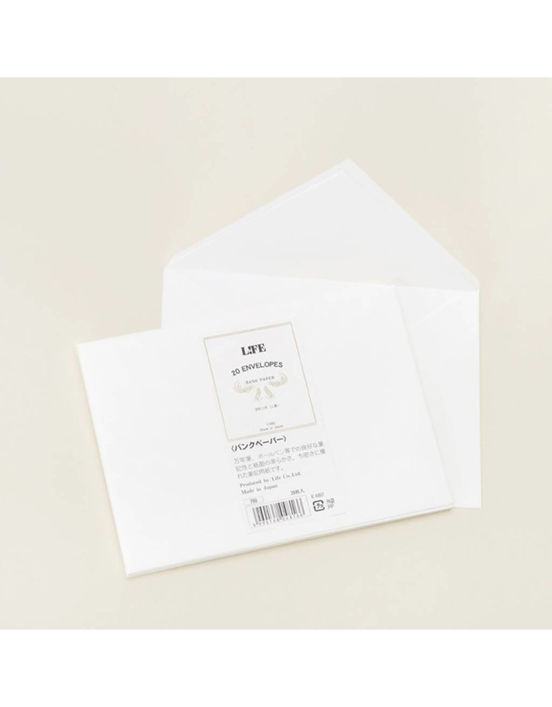 Envelope Life! Bank Paper Envelopes