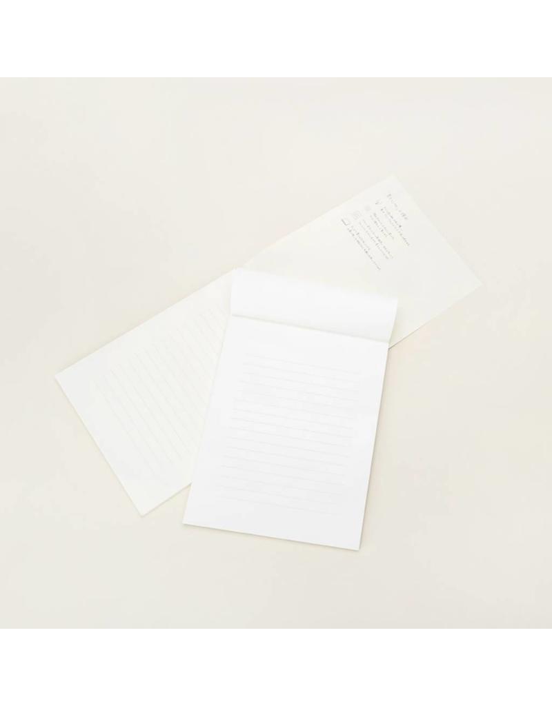 Midori Ruled Letter Pad