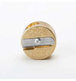Sharpener Brass 2-Hole Round Sharpener