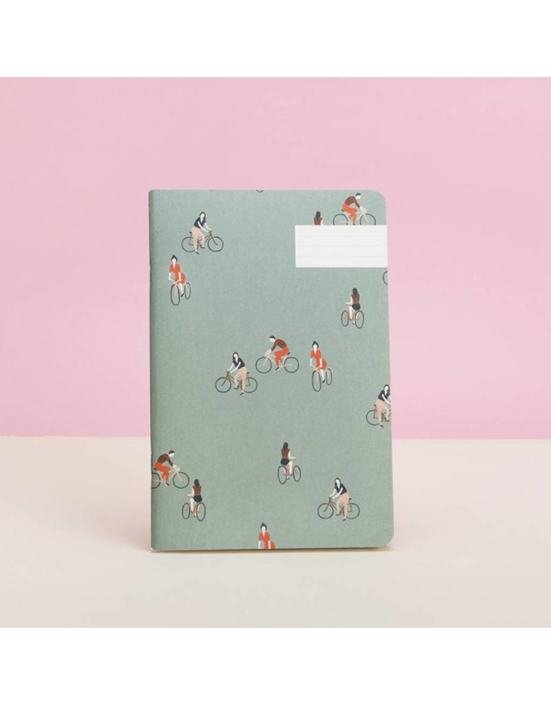 Pattern Notebook, À Bicyclette