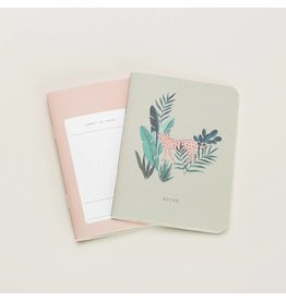 Mini Notebook Set, Leopard
