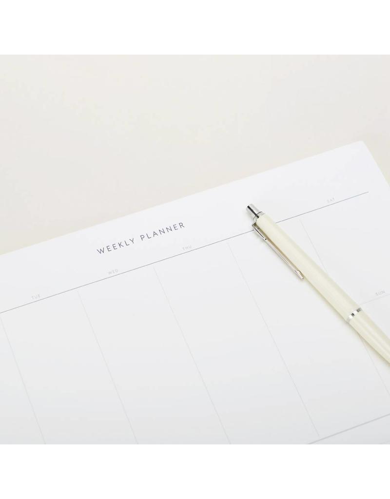 Desktop Weekly Planner Pad