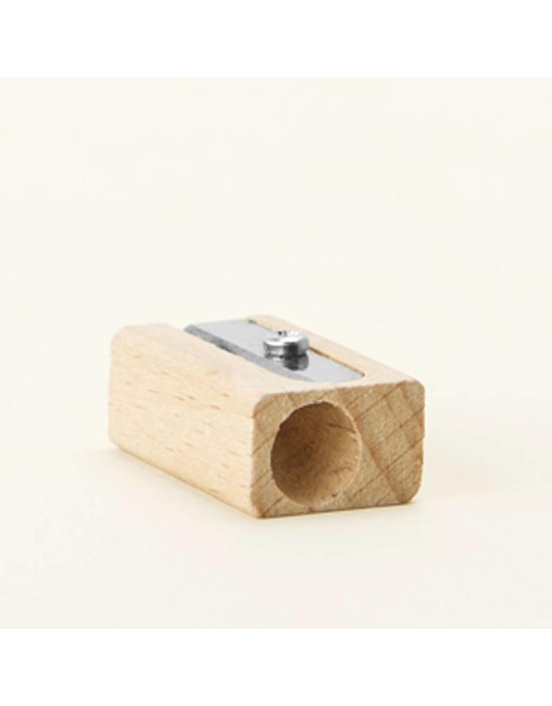 Single Hole Wooden Sharpener