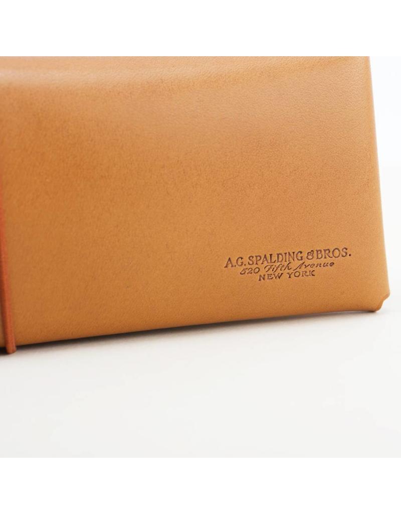 Double Pocket Leather Pen Case