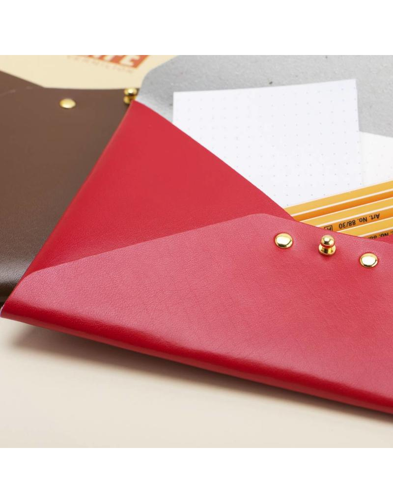 Folder Recycled Leather File Folder