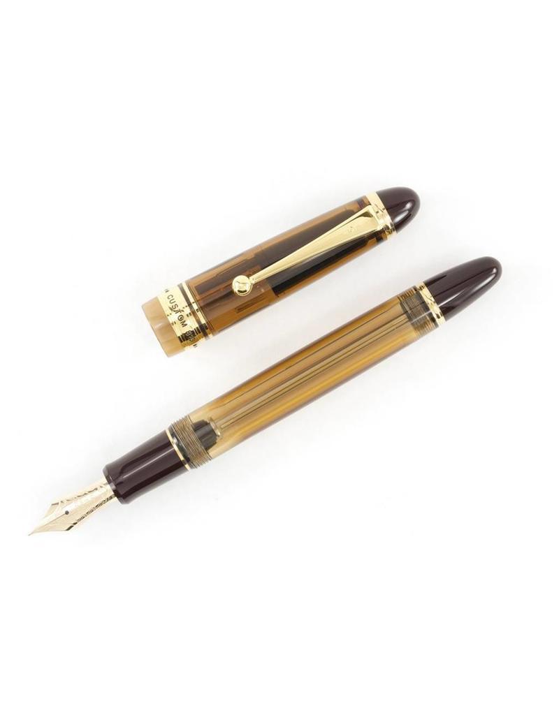 Pilot Custom 823 Amber Fountain Pen