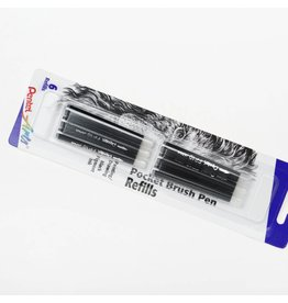 Pentel Pocket Brush Refill Pack