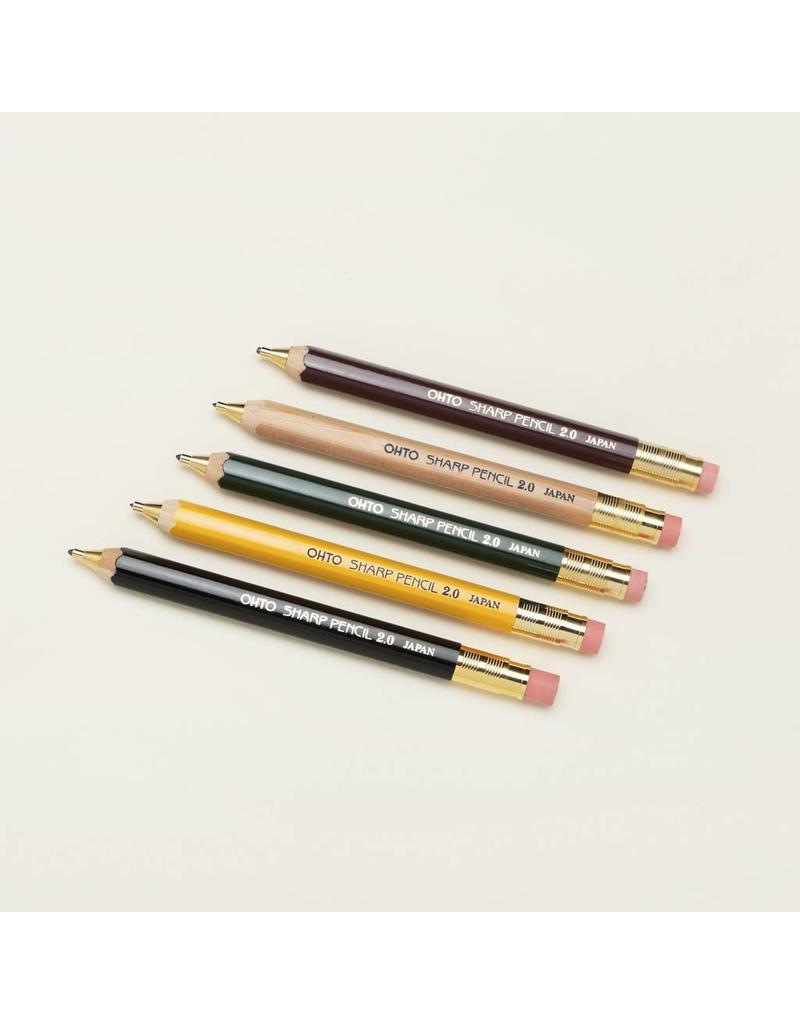 20mm Wooden Mechanical Pencil