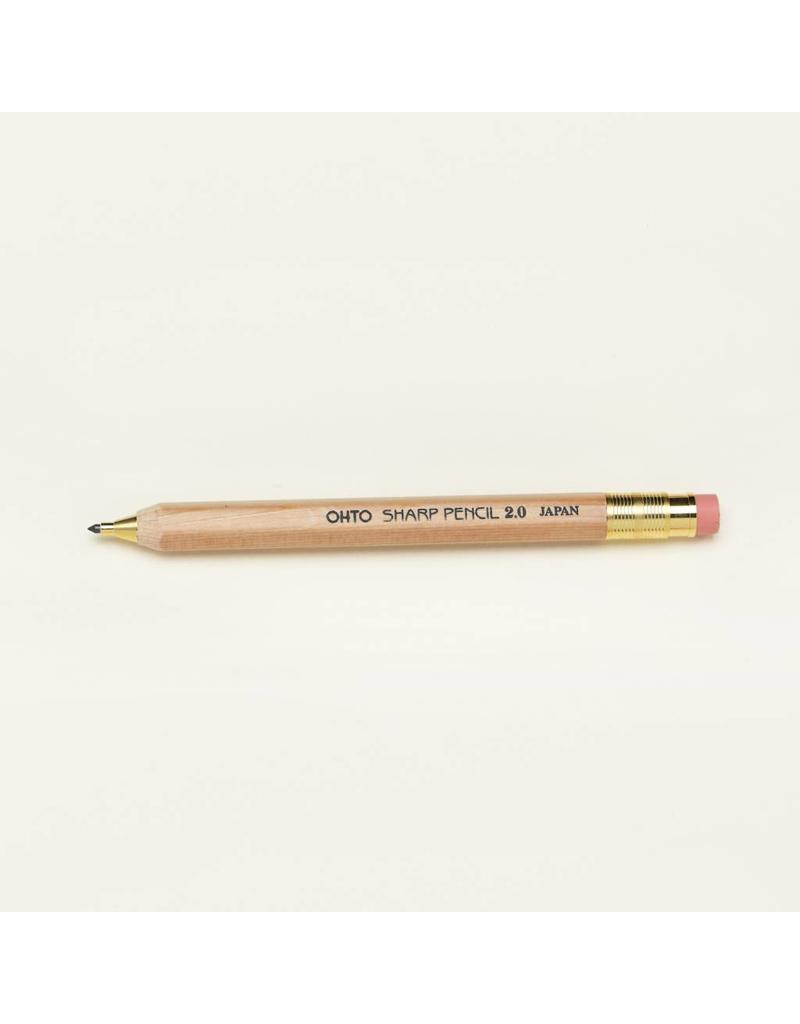 2.0mm Wooden Mechanical Pencil
