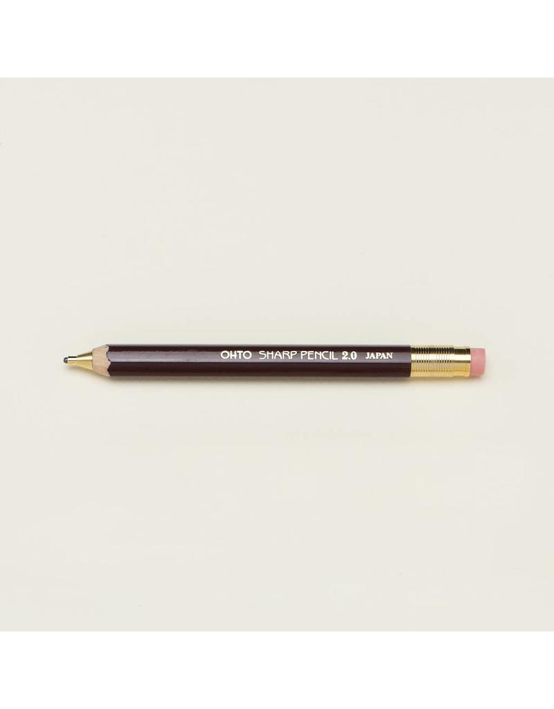 2.0mm Wooden Mechanical Pencil