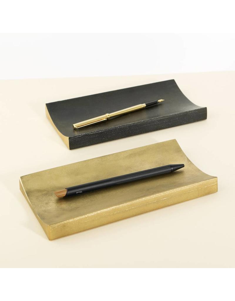 Brass Curve Pen Tray