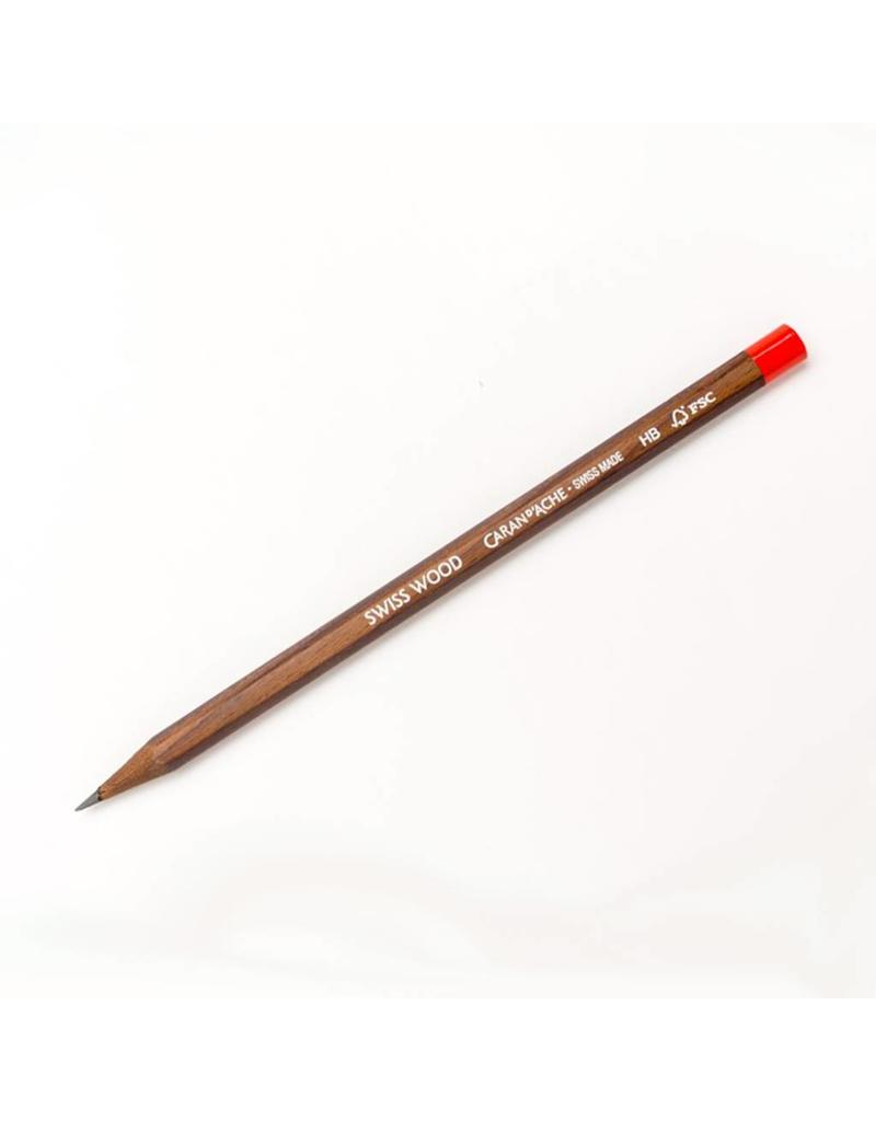 Caran d'Ache Swiss Wood HB Pencil