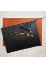 Leather Zip Laptop Sleeve