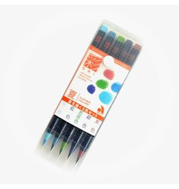 Summer Palette Brush Pen Set