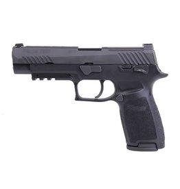 Sigsauer Sig Sauer M17 Bravo 4.7In 9mm Black Nitron Manual Thumb Safety Siglite Night Sights Optics Ready 2-10Rd Alter