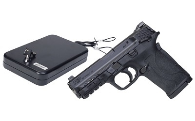 Smith & Wesson Smith & Wesson M&P380 Shield EZ .380 3.6In Thumb Safety 2-8Rd W/ Keyed Handgun Vault