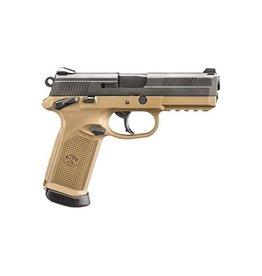 FNH FNH USA FNX45 USG 45acp BLK/FDE 2-10rd