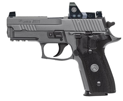 Sigsauer Sig Sauer P229 Legion RX 9mm 3.9In X-Ray3 Sights Romeo One Reflex Optic