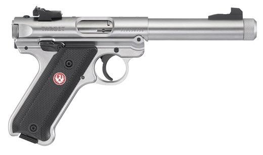 Ruger Ruger MKIV Target 5.5In .22LR Stainless TB 2-10Rd