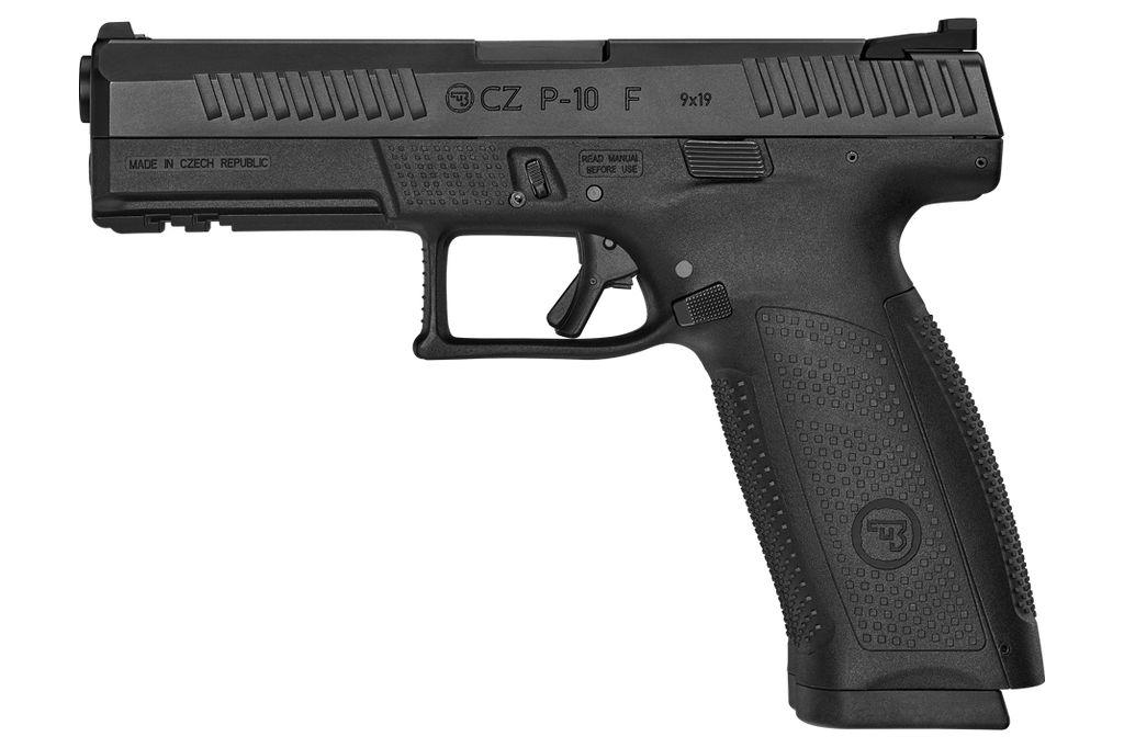 CZ CZ USA P10 F 9mm 4.5in  2-10Rd
