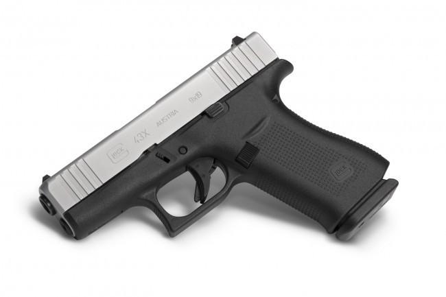 Glock Glock 43X 3.6In 9mm Ameriglo Bold Night Sights 2-10rd Blue Label