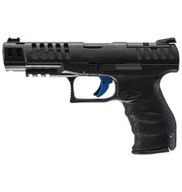 """WALTHER Walther PPQ Q5 Match 9mm 5"""" Fiber Optic Front 3-10rd Alter MOS Adj Sight"""