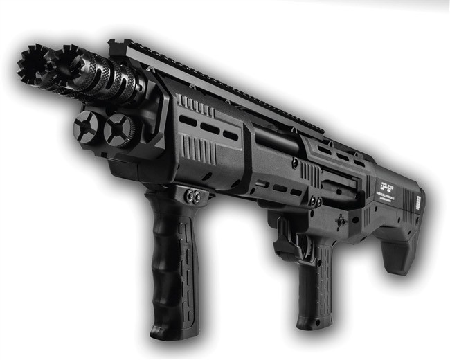 Standard Mfg Standard Mfg DP12 12ga Double Barrel Pump Shotgun BLK