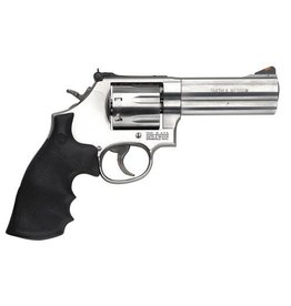 Smith & Wesson Smith & Wesson Model 686+ SS Rubber Grip 7rd 4""