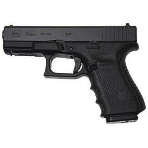 """Glock Glock G19 Gen4 9mm 4.01"""" 3-15rd Blue Label"""