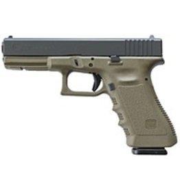 """GLOCK Glock G19 Gen4 9mm 4.01"""" 3-10rd Battlefield Green"""