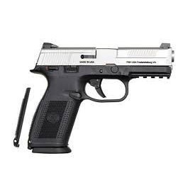 FNH FNH USA FNS-9 9mm w/Safety  SS/Black 2-15rd Altered
