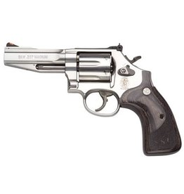 "Smith & Wesson Smith & Wesson Model 686 SSR 4"" 357mag Wood Grips 6rd"