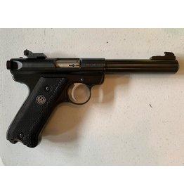 """Ruger Ruger Mark II 22/45 SS 4.5"""" Target .22LR USED w/Case"""
