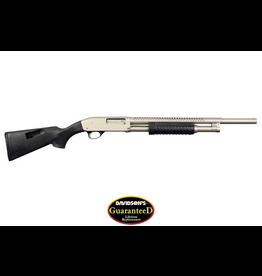 Armscor Armscor Prescision Rock Island M5 Pump Shotgun 12ga 20in Nickel Finish