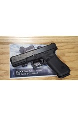 Glock Glock G17 Gen5 4.49In Fixed Sights 3-Altered Blue Label