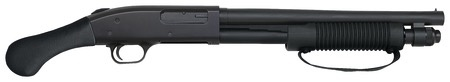 MOSSBERG Mossberg 590 Shockwave 12Ga 14In Cylinder Bore Raptor Pistol Grip 6-Shot