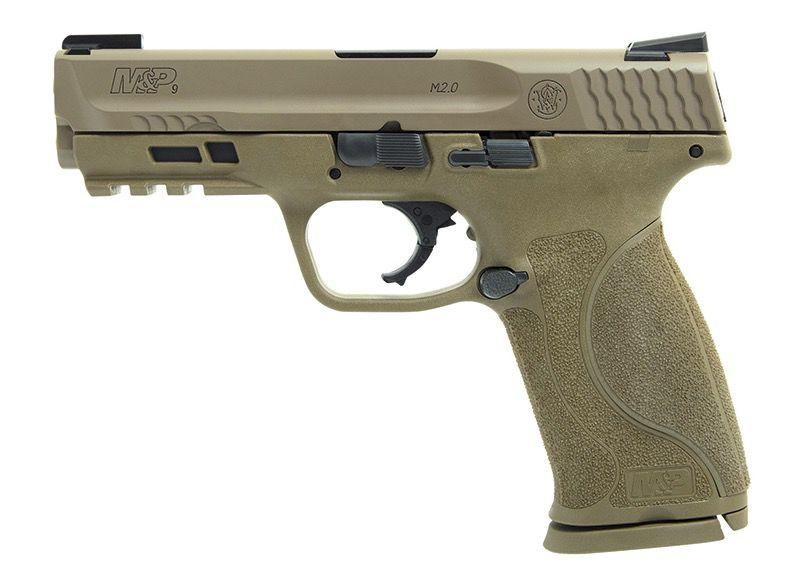 Smith & Wesson Smith & Wesson M&P9 M2.0 4.25In FDE Truglo TFX 2-Alter