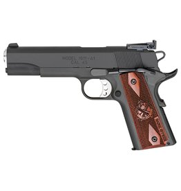 """SPRINGFIELD Springfield Armory 1911-A1 Range Officer 45ACP 5"""" Cocobola Checkered Grips 7+1 Adj Target Sights"""
