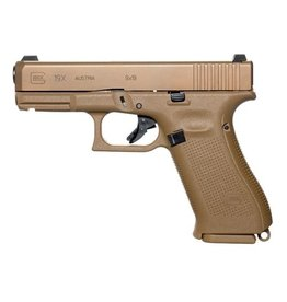 Glock Glock G19X 9mm  4.02In Marksman Barrel Glock Night Sights FLat Dark Earth PVD 3-10rd